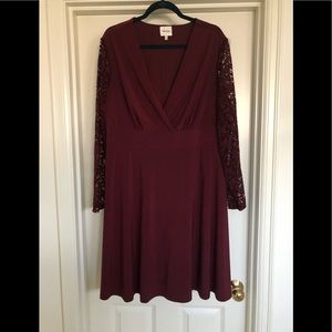Ashley Graham Midi Dress